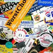Stickers and Signs